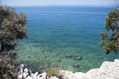 Mediterranean Sea, Croatia Stock Photography
