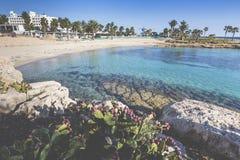 Mediterranean Sea.Cyprus stock photo