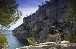 Mediterranean sea ,France Royalty Free Stock Photo