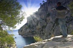 Mediterranean sea ,France Royalty Free Stock Photography
