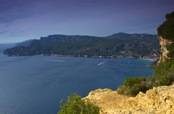 Mediterranean sea, France Stock Images