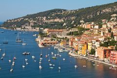 Mediterranean sea France Villefranche Stock Photo