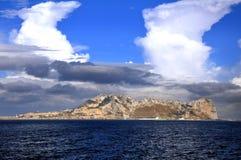Mediterranean Sea.Gibraltar Stock Photography