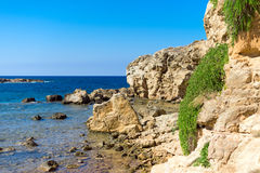 Mediterranean sea. Royalty Free Stock Photos