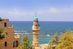 Mediterranean Sea from a height of Old Jaffa, Tel Aviv, Israel Royalty Free Stock Photos