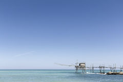 Mediterranean sea Italian coast Stock Photo