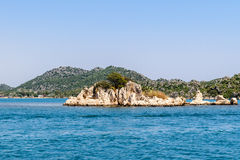 Mediterranean Sea. Kekova Bay Stock Photo