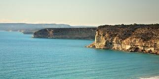 Mediterranean sea in Kourion. Cyprus Stock Image