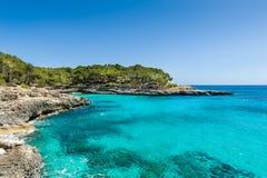 Mediterranean sea landscape Stock Images
