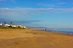Mediterranean Sea landscape in winter, Spain. Stock Photos