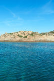 Mediterranean sea at Maddalena archipelago, Sardinia , Italy. Royalty Free Stock Photos