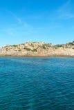 Mediterranean sea at Maddalena archipelago, Sardinia , Italy. Royalty Free Stock Photos