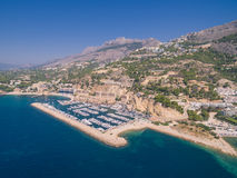 Mediterranean sea marina Royalty Free Stock Photography