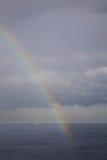 Mediterranean sea near Santa Cruz de Tenerife. Canary Islands. Spain Royalty Free Stock Photo