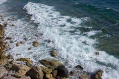 Mediterranean Sea near Varigotti Royalty Free Stock Image