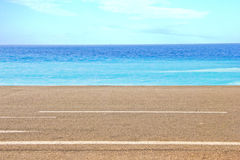 Mediterranean sea in Nice Royalty Free Stock Photography