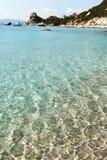 Mediterranean sea at north Sardinia, Italy. Stock Photography