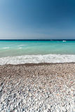 Mediterranean sea Rhodes Royalty Free Stock Photo