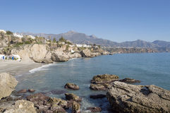 Mediterranean Sea. Rocks on the Mediterranean Sea royalty free stock photo