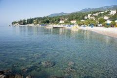 Mediterranean sea scenery Royalty Free Stock Photography