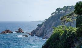 Mediterranean sea. Spain. Stock Photos