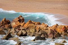 Mediterranean Sea. Spain Royalty Free Stock Photos