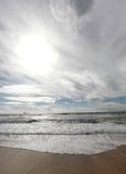 Mediterranean sea tide Stock Photography