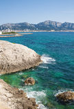 French Riviera, near Marseille Stock Photo