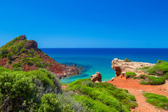 Mediterranean sea view Royalty Free Stock Photos