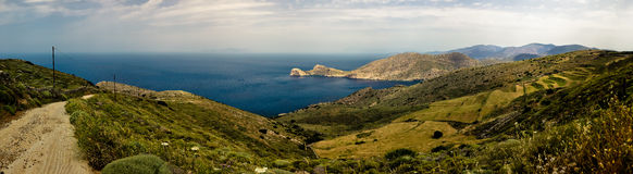Mediterranean Sea View Royalty Free Stock Image