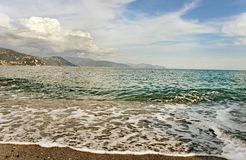 At the mediterranean sea. Royalty Free Stock Photos