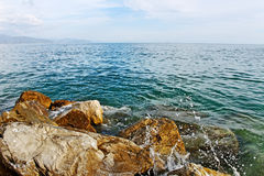 At the mediterranean sea. Royalty Free Stock Images