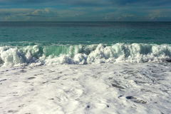 Mediterranean sea waves. Stock Photography