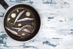 Mediterranean seafood eating. Royalty Free Stock Photos