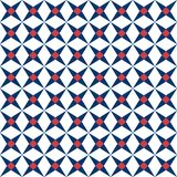 Mediterranean seamless pattern. Ceramic tile texture, tiles pattern vector illustration royalty free illustration