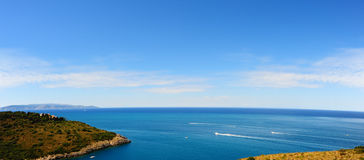 Mediterranean Seascape Stock Photo