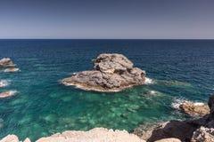 Mediterranean seascape near San Javier Stock Image