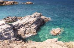 Mediterranean seascape near San Javier Royalty Free Stock Photo