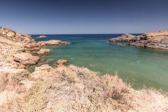 Mediterranean seascape near San Javier Royalty Free Stock Photography