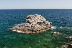Mediterranean seascape near San Javier Stock Photography