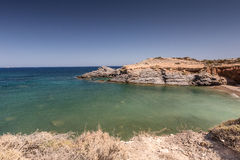 Mediterranean seascape near San Javier Stock Photos