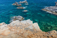 Mediterranean seascape near San Javier Royalty Free Stock Photography