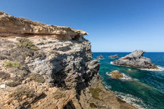 Mediterranean seascape near San Javier Stock Photography