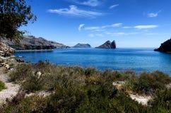 Mediterranean seascape Stock Photography