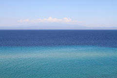 Mediterranean seascape Royalty Free Stock Image