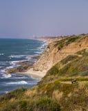 Mediterranean Seashore in Israel Royalty Free Stock Photo