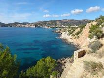 Mediterranean Seaside Royalty Free Stock Photography