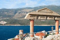Mediterranean seaview Stock Photography