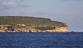 Mediterranean see and Gozo island. Malta Stock Photo