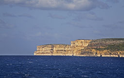 Mediterranean see and Gozo island. Malta Stock Photography